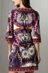 Короткое платье с прямым покроем